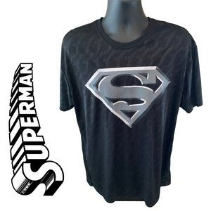 Superman DC Comics Silver Logo T Shirt